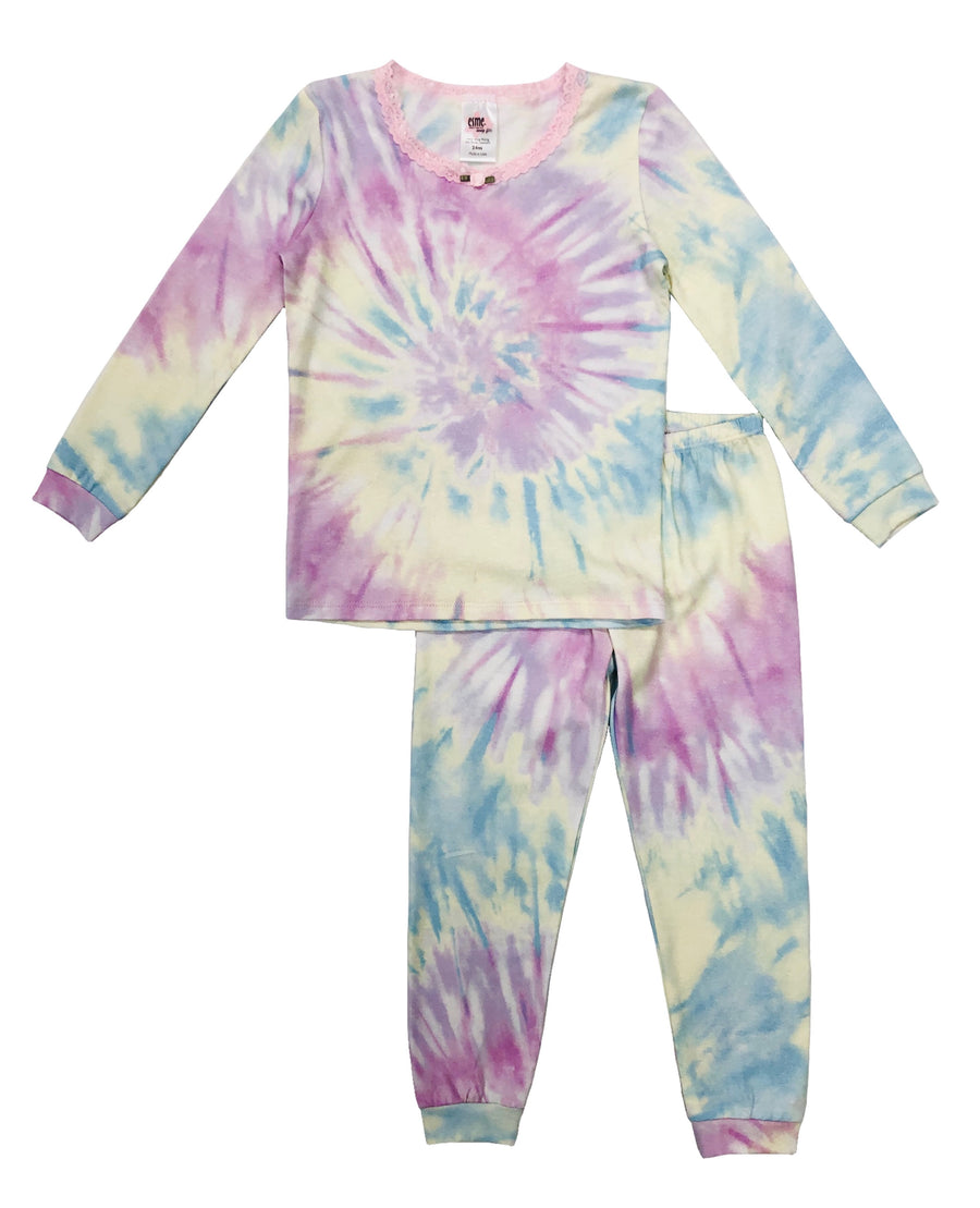 [TEMPORARILY SOLD OUT] Shimmer Tie Dye Full Length Set