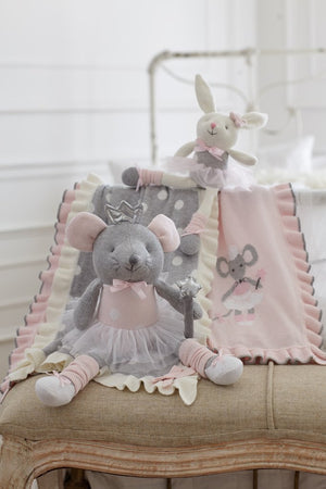 Princess Mouse Knit Doll