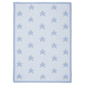 Reversible Blue Star Blanket