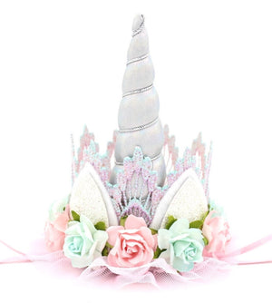 Unicorn Flower Lace Crown - Unicrown