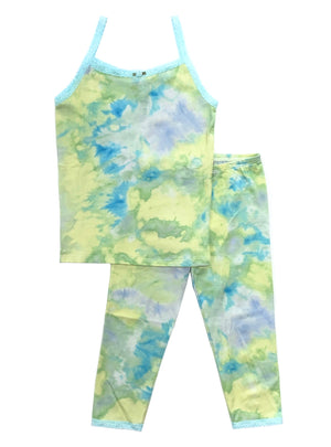 [Mommy & Me] Lemon Lime Cami & Cropped Legging Set