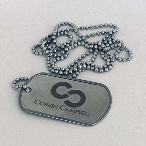 Limited Edition CC Logo Dog Tag