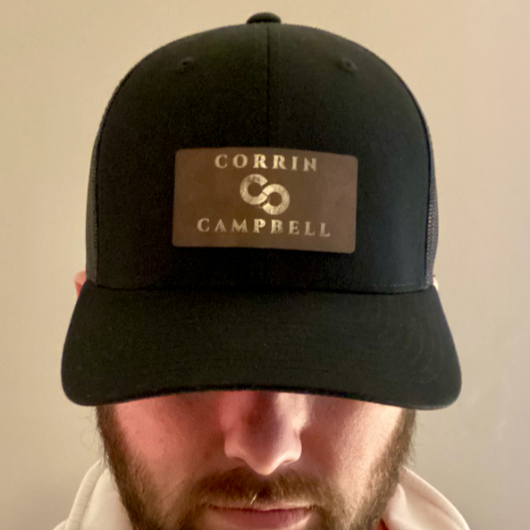 Laser-Engraved Adjustable Trucker Cap
