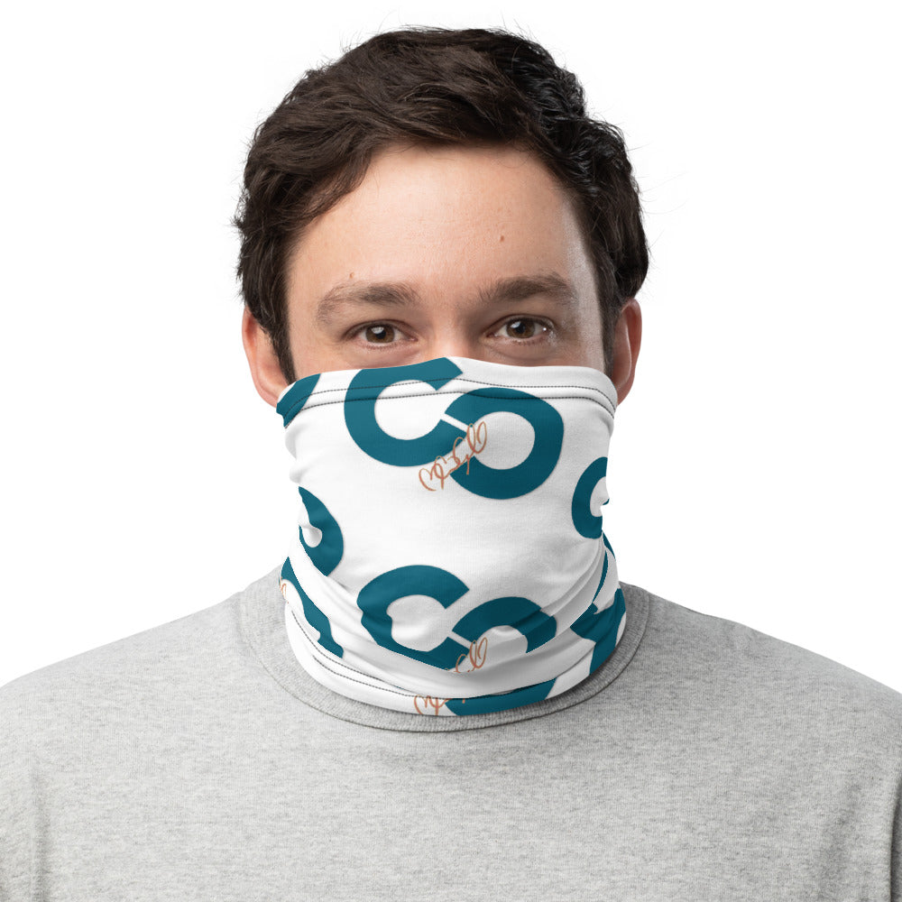 CC Logo All-Over-Print Neck Gaiter