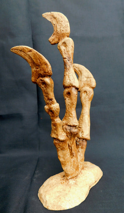 Utahraptor Project - Fossilized Hand replica for sale