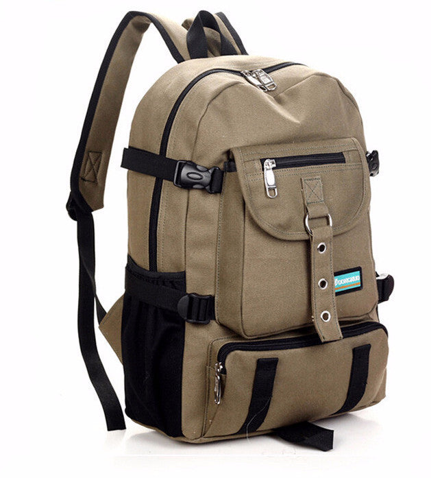 backpack school bag canvas