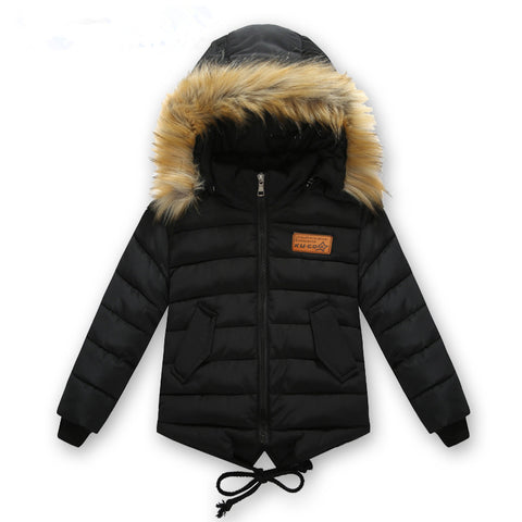 winter cotton-padded jacket