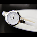 Enmex women slim strap wristwatch