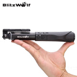BlitzWolf Universal Portable Extendable Bluetooth Wire Wireless Selfie Sticks