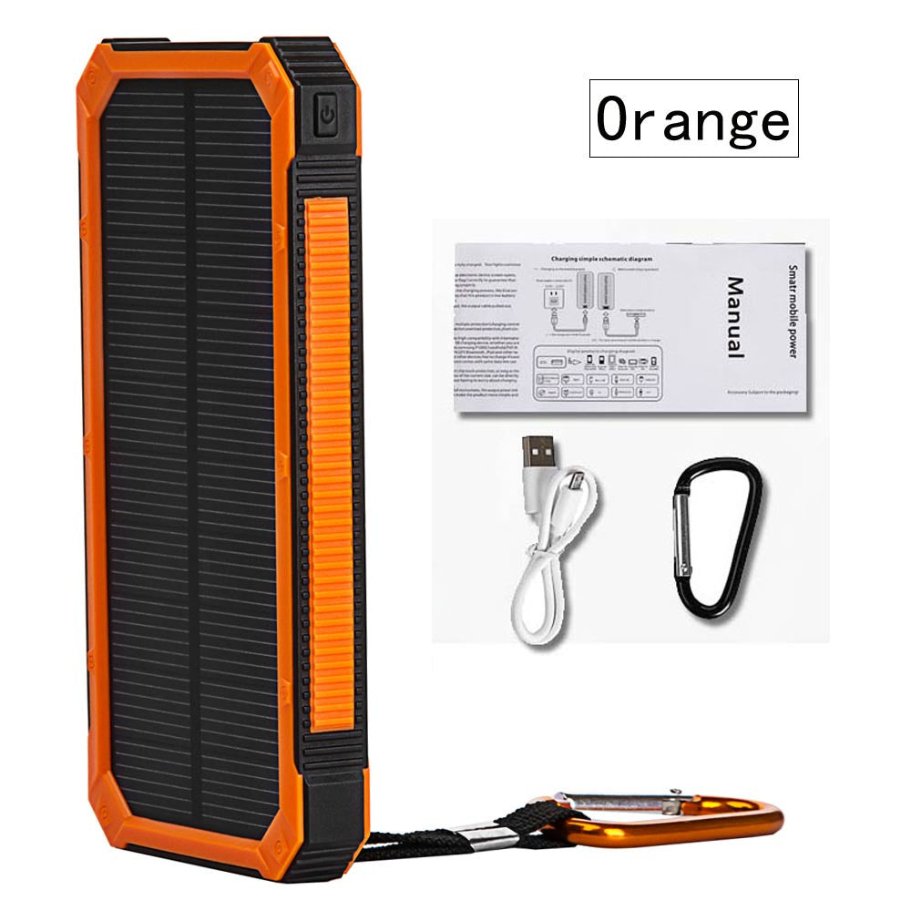 Solar Poverbank Mobile Phone Power Bank