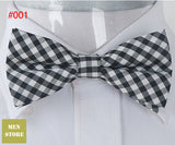 Grid Checker Plaid Bow tie's