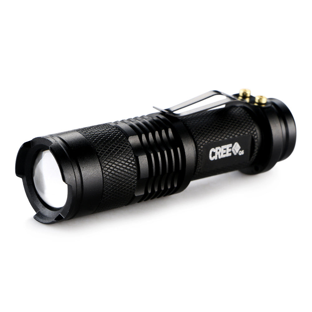 Mini 2000 Lumens Bright LED Adjustable Zoom