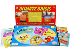 Climate Crisis, a Co-operative Board Game from Family Pastimes.