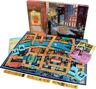 Eagle Eye Agency Game Box, Board and Pieces Displayed as in Play
