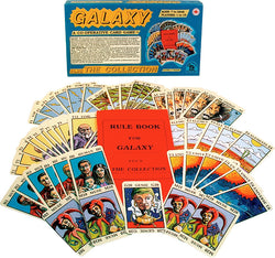 Galaxy Game Box, Rules and Cards Displayed