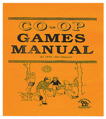 Cover of Family Pastimes Co-operative Games Manual, a Compendium of over 179 Co-op Games and Activities for Ages 3 to 12+