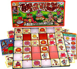 There's a Growly in the Garden Game Board, Box and Pieces Displayed in Play