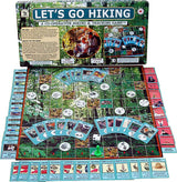 Let's Go Hiking  Game Box, Board and Pieces Displayed as in Play