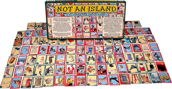 Not An Island Game CBox and Cards Displayed Together