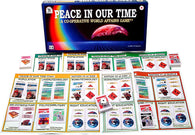 Peace IN Our Time Game Laid Out with Box