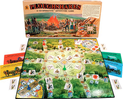 Ploughshares Box and Gameboard Displayed with Pieces in Play