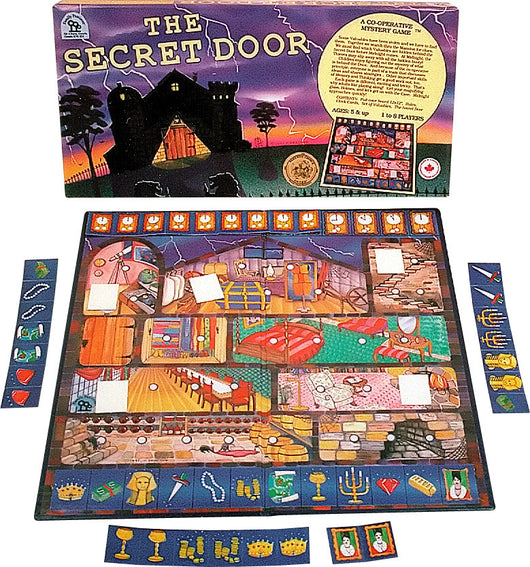 The Secret Door Game Box Board and Pieces ready to Play  sc 1 st  Family Pastimes & The Secret Door \u2013 Family Pastimes Cooperative Games