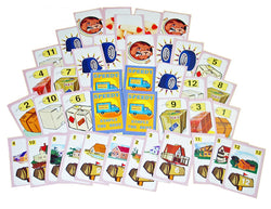 Speedy Parcel Game Cards Displayed