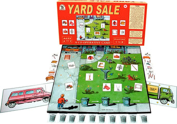 Yard Sale Game Box, Board and Pieces ready to Play