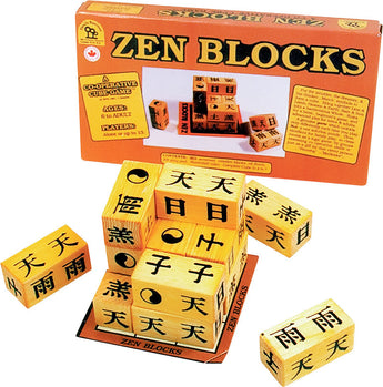 Zen Blocks Game and Box