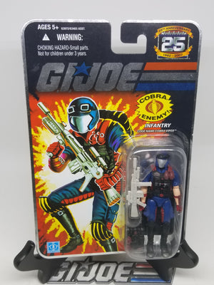 GI Joe 25th Viper MoC (Foil), Modern GI Joe Figures - GI Joe Junkyard