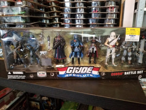GI Joe 25th Resolute Cobra 7 Pack MIB, Modern GI Joe Figures - GI Joe Junkyard