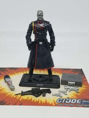 GI Joe Resolute Destro Loose Complete, Modern GI Joe Figures - GI Joe Junkyard
