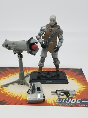 GI Joe Resolute Firefly Loose Complete, Modern GI Joe Figures - GI Joe Junkyard