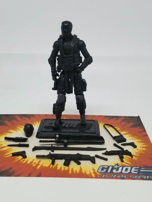 GI Joe Pursuit of Cobra Snake Eyes Commando Loose Complete, Modern GI Joe Figures - GI Joe Junkyard