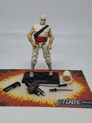 GI Joe Resolute Storm Shadow Loose Complete, Modern GI Joe Figures - GI Joe Junkyard