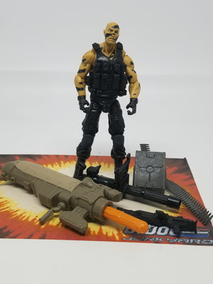 GI Joe Retaliation Roadblock Dojo Loose Complete, Modern GI Joe Figures - GI Joe Junkyard