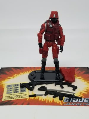 GI Joe Retaliation Crimson Guard Loose Complete, Modern GI Joe Figures - GI Joe Junkyard