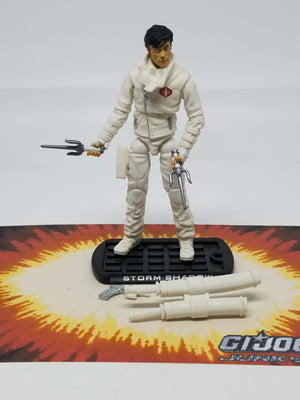 GI Joe Rise of Cobra Storm Shadow Paris Pursuit, Modern GI Joe Figures - GI Joe Junkyard