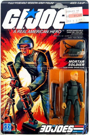 1982 Short-Fuze, GI Joe Parts - GI Joe Junkyard