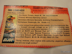 1982 Steeler, GI Joe Parts - GI Joe Junkyard