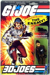 1983 Major Bludd, GI Joe Parts - GI Joe Junkyard