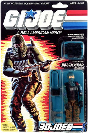 1986 Beach Head, GI Joe Parts - GI Joe Junkyard