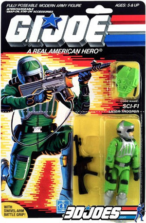 1986 Sci-Fi, GI Joe Parts - GI Joe Junkyard