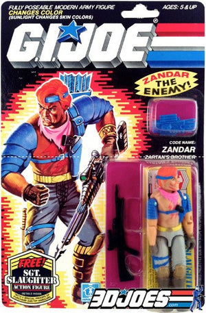 1986 Zandar, GI Joe Parts - GI Joe Junkyard