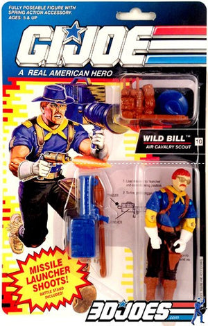1992 Wild Bill - GI Joe Junkyard