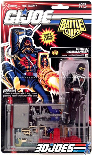 1993 Cobra Commander - GI Joe Junkyard