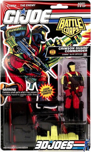 1993 Crimson Guard Commander - GI Joe Junkyard