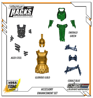 Junkyard Exclusive – Accessory Enhancement Set, BFS Accessories - GI Joe Junkyard