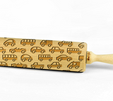 CARS – Embossing wooden rolling pin