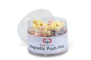 Load image into Gallery viewer, Pastel Neodymium Magnet Push Pins (50 or 100 pack)